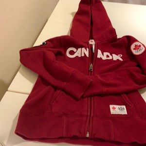 Canada Hoodie Girls official 2010 Olympic top